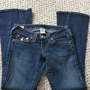 True Religion flare jeans sz 25
